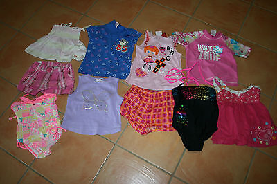 Girls Size 4 Mixed Summer Clothes & Swimwear - Lalaloopsy Great Condition