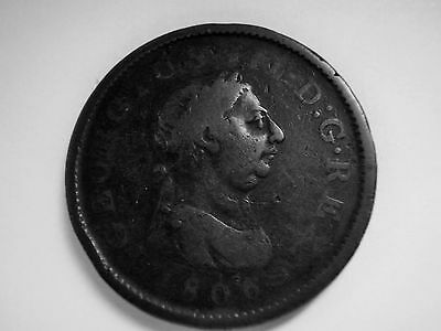 1806 George III one penny
