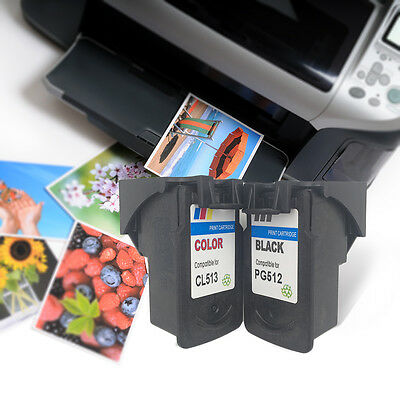 !Universal PG-CL-513 CL513 PG512 PG 512 CL 513 Ink Cartridges For Canon!