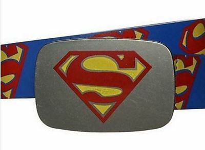 Boys SUPERMAN belt NEW one size APPROX 3-4-5-6-7 years