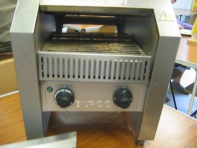 BURCO Tacnvo1 STAINLESS STEEL CATERING CONVEYOR TOASTER EXCELLENT WORKING ORDER