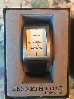 MEN'S KENNETH COLE WATCH IN BOX - NEW YORK - NOKIA (with Booklet)
