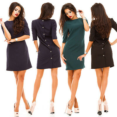 Women's Bandage Bodycon Long Sleeve Evening Party Cocktail Short Mini Dress New
