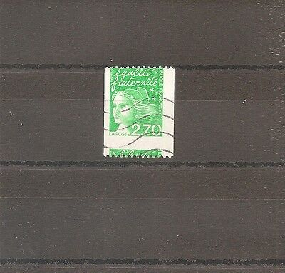 Timbre France Frankreich 1997 N°3100 Oblitere Used Variete Piquage A Cheval