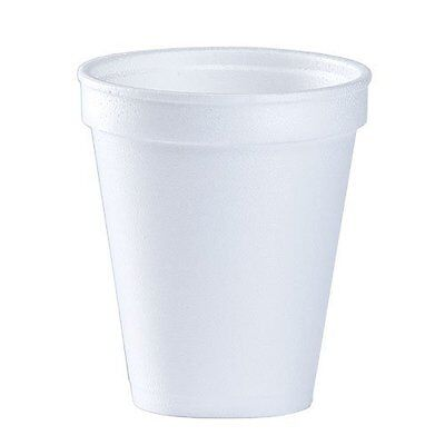 Coffee Foam Cups Party White Disposable Coffee Foam Cups Hot and Cold 8Oz 102pcs
