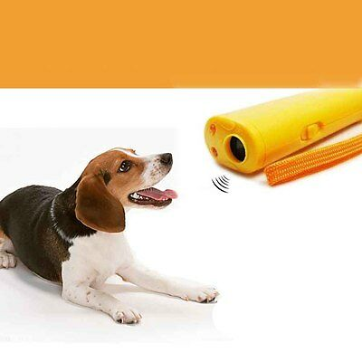 Ultraschall Anti Bell Hundetraining Hundeerziehung Dog Repeller Trainer Gerät