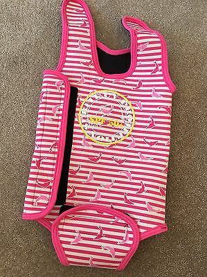 Baby Girl Wetsuit Age 6-12 Months