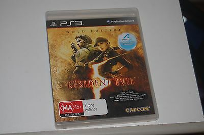 Resident Evil Gold Edition ps3 Playstation 3