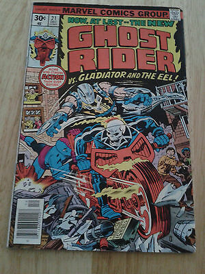 Ghost Rider #21,1976 ,VG++  (5.0) , cents