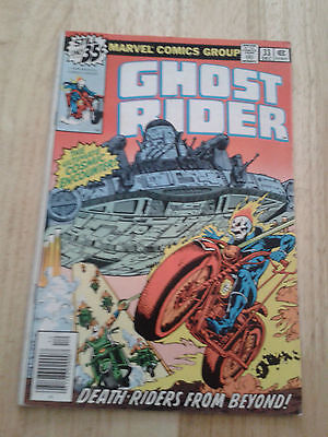 Ghost Rider #33,1978 ,VG / VG+, cents