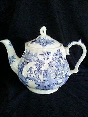 Vintage Sadler Teapot Willow Pattern Excellent Condition