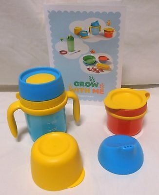 Bnip Tupperware Grow With Me Tumbler & Snack Cup