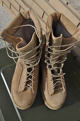 Canadian Forces Desert Combat Boots Gore-Tex Lined Size 275/104 Men's 10.5 W New