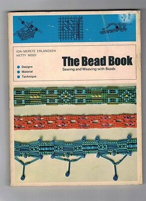 bead craft, The Bead Book, sewing, weaving with beads, Erlandsen and Mooi