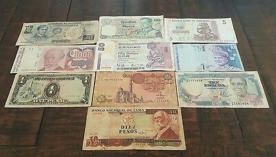 World banknotes collection