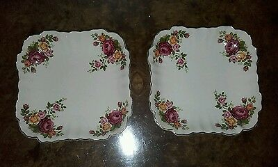 Pair of Vintage James Kent Old Foley Dishes