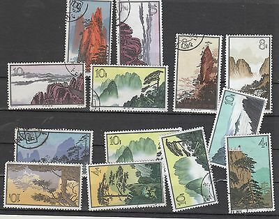 China , 1963 Mountain Issues Cto