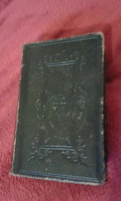 Rare Antique MDCCCLXIV The Holy Bible Old And New Testaments 1864 Oxford Press