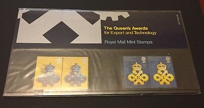 GB 1990 Queen's Awards Export & Technology Presentation Pack 207