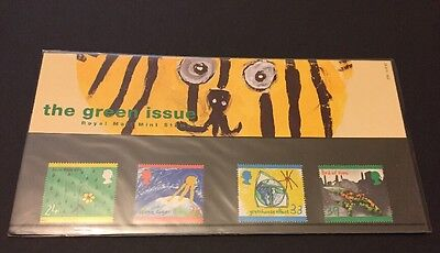 """GB Presentation Pack 230 """"The Green Issues"""", 4 stamps, MNH, 1992"""