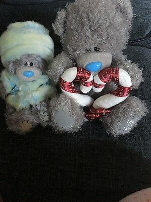 2 Tatty Teddies Been Well Loved And Played With