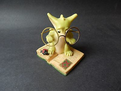 "Vtg Whimsical World Of Pocket Dragons 1998 ""the Scholar"" Real Rm/cwsl"