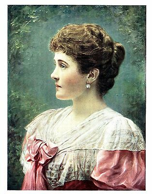 Duchess of Connaught - Princess Louise Margaret of Prussia - By Mendelssohn