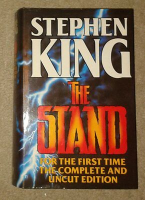 the stand - stephen king hardback book