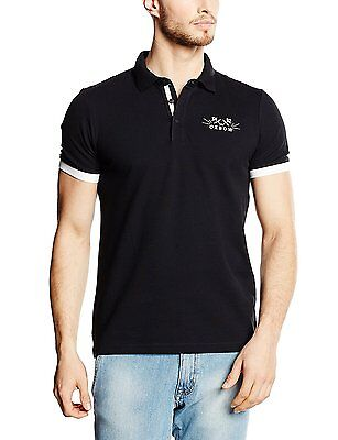 Oxbow Peskot Polo Homme Noir FR : L (Taille Fabricant : L)