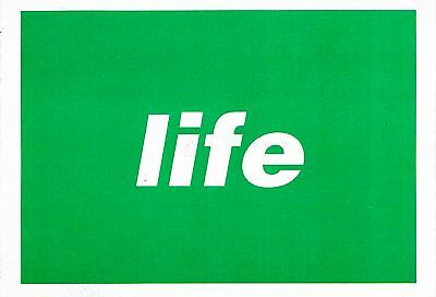 LIFE Rave Flyer Flyers A6 11/12/93 Bowlers Trafford Park Manchester
