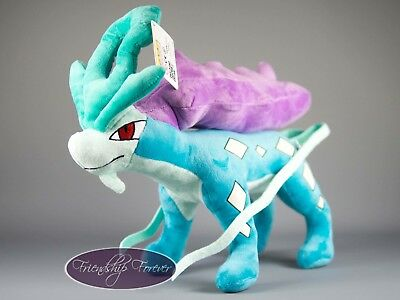 "Pokemon Suicune スイクン Suicune Plush Pokemon 12""/30 cm High Quality UK Stock"