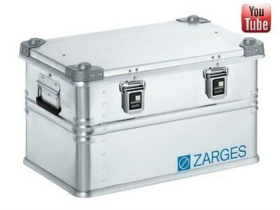 Zarges 40678 K470 Aluminium Case 550 x 350 x 310mm | Storage box | Flight case