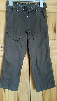 marks& spenser boys lined trousers age 5-6 years