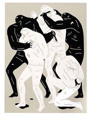 "Cleon Peterson "" Collecting Bodies "" Print"