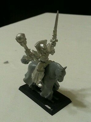 Warhammer Undead Necromancer mounted, late 1990s (REDUCED STARTING PRICE)
