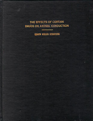 """Master Thesis - """"The Effects of Certain Drugs On Axonal Conduction"""""""