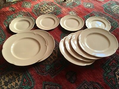 "Set of Johnson Bros. ""Rosedawn"" plates, 10pcs"