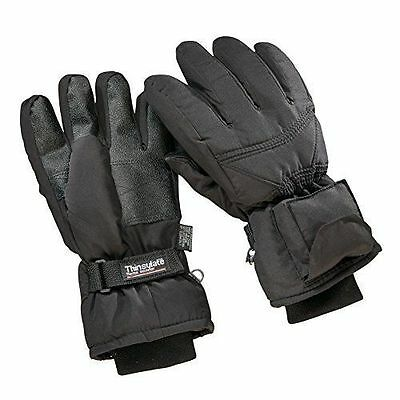 Battery Operated Heated WaterProof nylon, soft fleece Gloves, Mens