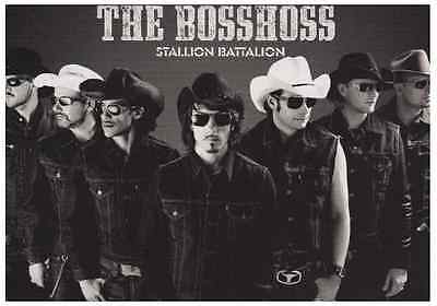 1 Postkarte - The Bosshoss - Album: Stallion Battalion - Universal Music Group