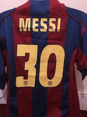 Barcelona Shirt-30 Messi -size XL