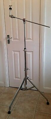 P2. Premier Tall Heavy Duty Disappearing Boom  Cymbal Stand. Good Condition.