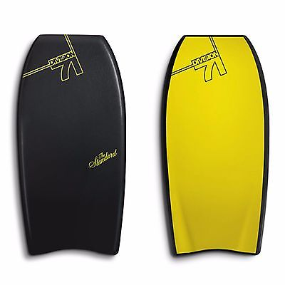 """Catch Surf Division 71 'the Standard - 41.5""""' Bodyboard D71 Black & Yellow"""