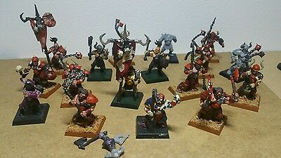 Warhammer marauders of chaos  part painted
