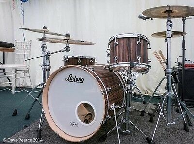 Ludwig 3 Piece Drum Kit