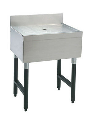 "Advance Tabco SLD-3 35"" Stainless Steel Underbar Drain Workboard Unit"