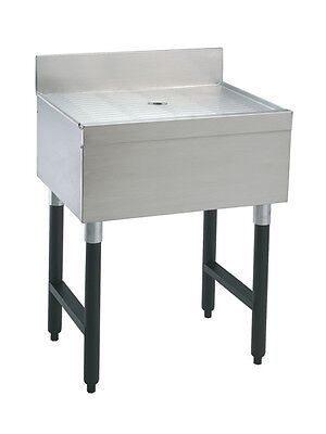 "Advance Tabco SLD-18-X 18"" Stainless Steel Underbar Drain Workboard Unit"