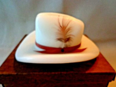 "Candleign Wild West Candle In Shape Of Cowboy Hat - Hand Made - Usa - 9.5"" Long"