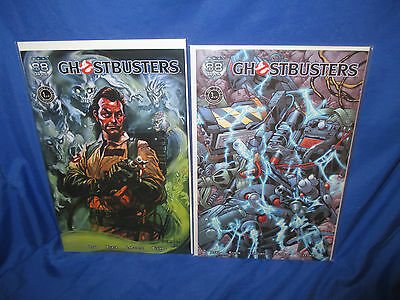 88 MPH The Ghostbusters #1 Variant Very Rare Peter Venkman Cover Bill Murry + #3