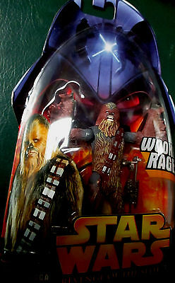 Star Wars Revenge Of The Sith Figure Chewbacca No 5 Wookie Rage UNOPENED #13