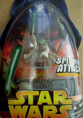 Star Wars Revenge Of The Sith Figure Yoda No.26 MINT UNOPENED #14